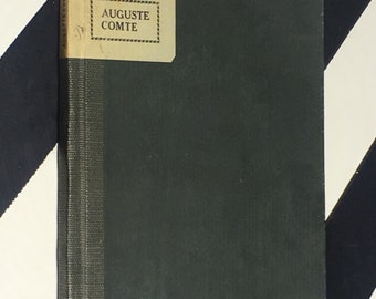 Little Journeys to the Homes of Great Philosophers: Auguste Comte by Elbert Hubbard (1903) hardcover book