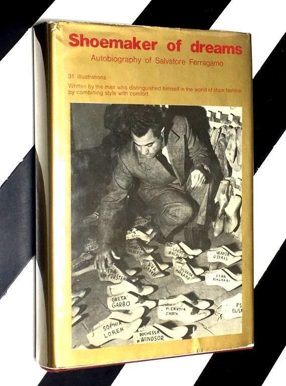 Shoemaker of Dreams by Salvatore Ferragamo (1972) hardcover book