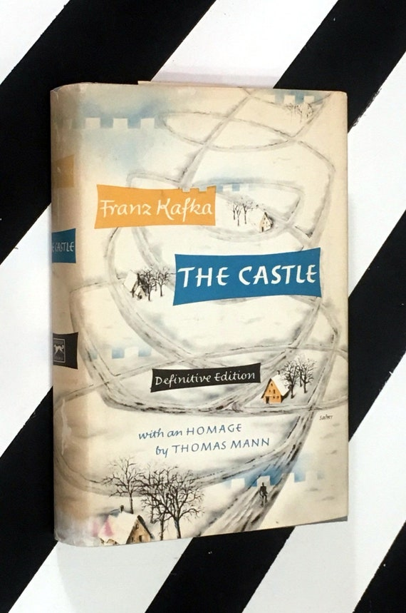 The Castle by Franz Kafka with an Homage to Thomas Mann (1968) hardcover book