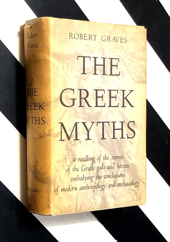 The Greek Myths by Robert Graves (1959) hardcover book