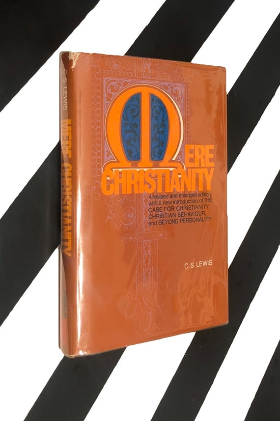 Mere Christianity by C. S. Lewis (1952) hardcover book