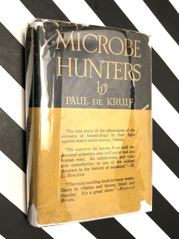 Microbe Hunters by Paul de Kruif (Hardcover, 1926) vintage book