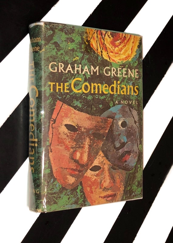 The Comedians: A Novel by Graham Greene (1966) hardcover book