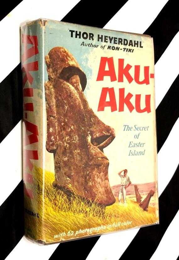 Aku-Aku by Thor Heyerdahl (1958) hardcover book