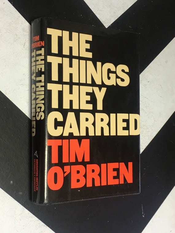 The Things They Carried by Tim O'Brien (Hardcover, 1990) vintage classic first edition Vietnam War book