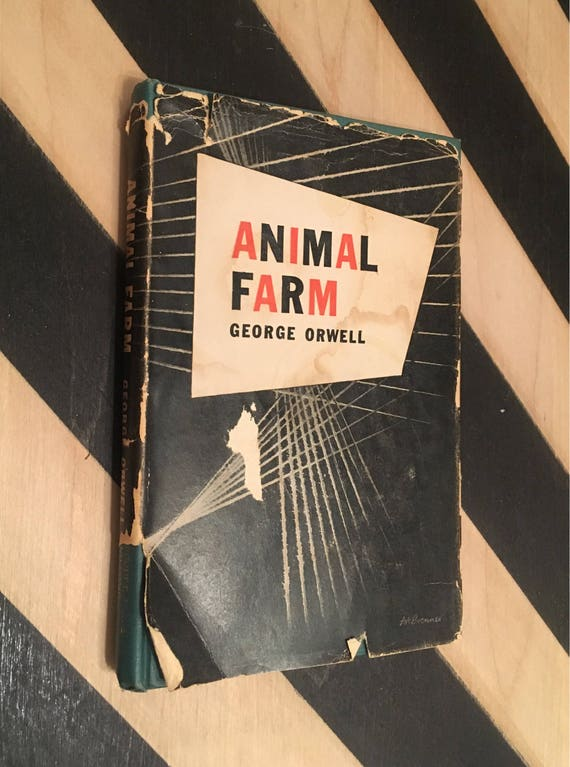 Animal Farm by George Orwell (1946) vintage book