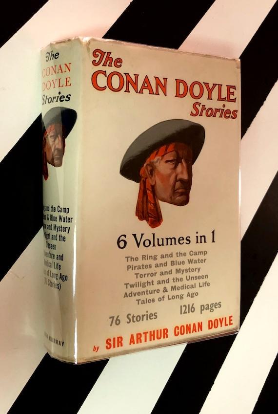 The Conan Doyle Stories by Sir Arthur Conan Doyle (1960) hardcover book