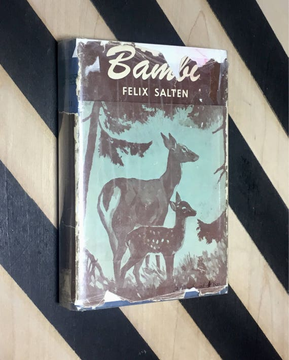 Bambi by Felix Salten; Translation by Whittaker Chambers, Illustrations by Kurt Wiese, Foreword by John Galsworthy (1929) hardcover book