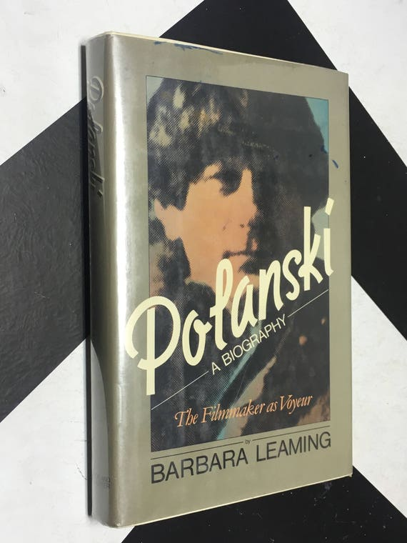Polanski: A Biography - The Filmmaker as Voyeur by Barbara Leaming (Hardcover, 1981) vintage book
