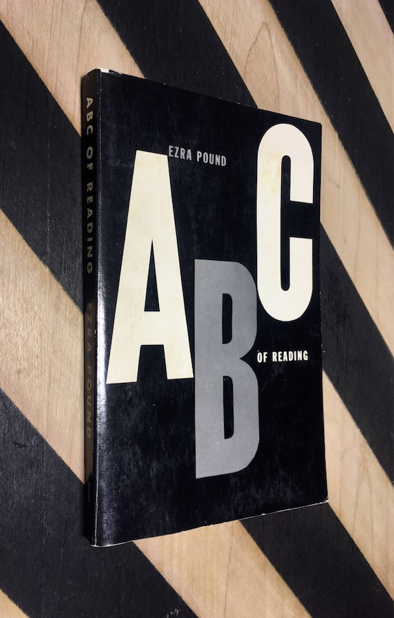 ABC of Reading by Ezra Pound (1960) softcover book