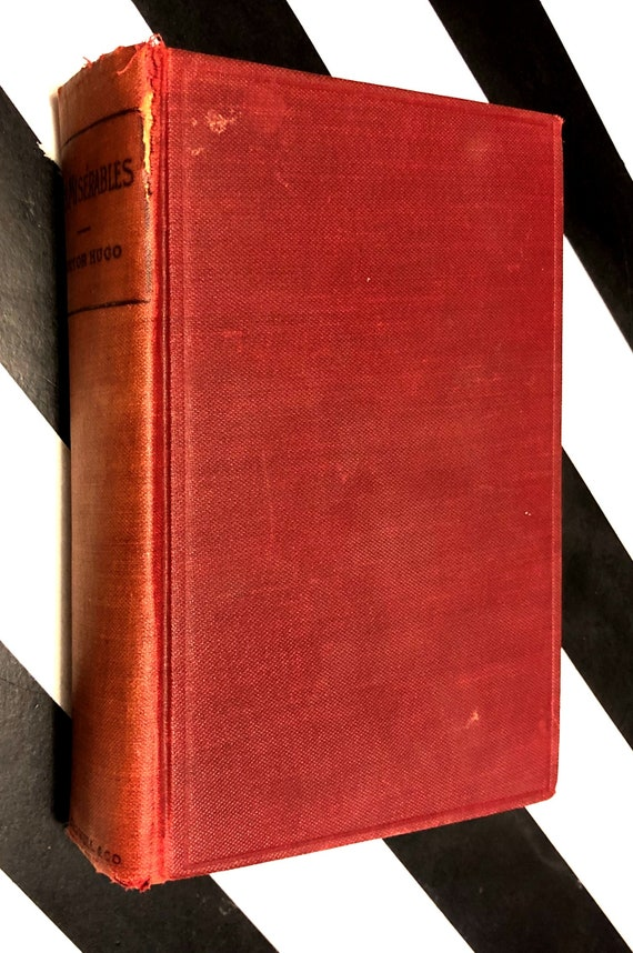 Les Miserables by Victor Hugo (1887) hardcover book