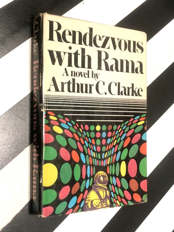 Rendezvous with Rama by Arthur C. Clarke (1973) hardcover book