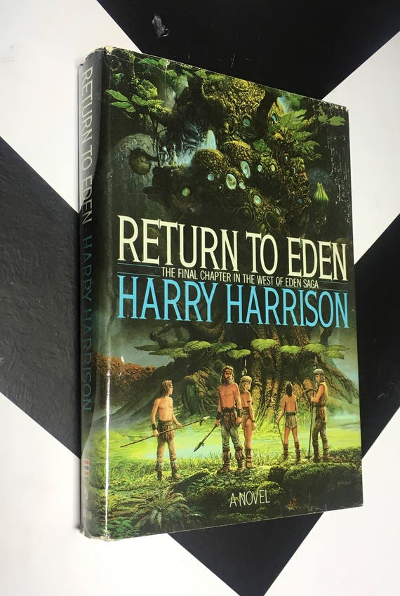 Return to Eden: The Final Chapter in the West of Eden Saga by Harry Harrison vintage science fiction fantasy book (Hardcover, 1988)