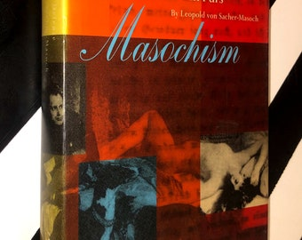 Masochism: Coldness and Cruelty by Gilles Deleuze and Venus in Furs by Leopold von Sacher-Masoch (1989) hardcover book
