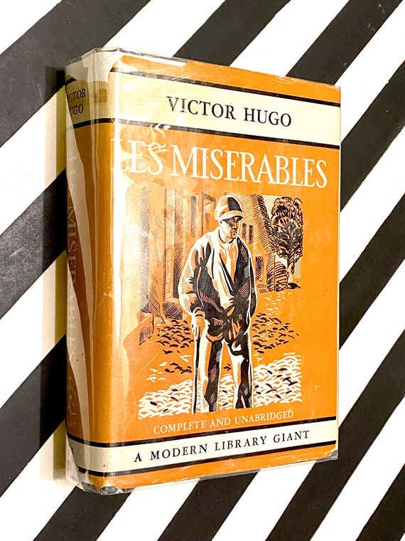 Les Miserables by Victor Hugo (1940) Modern Library hardcover book