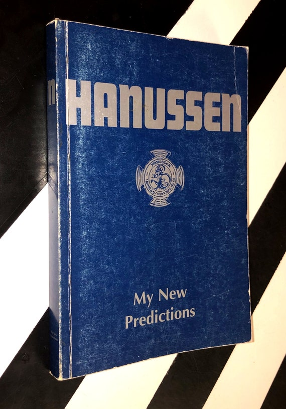 My New Predictions by Hanussen (1997) softcover book