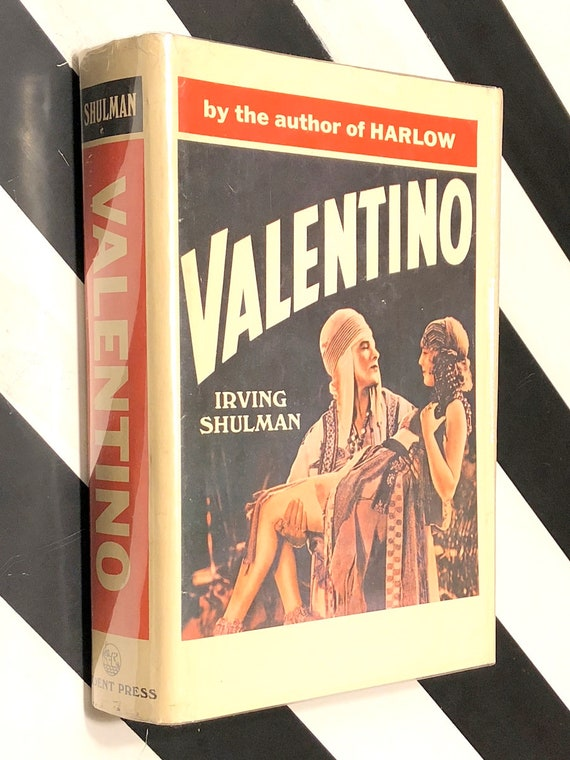 Valentino by Irving Shulman (1967) first edition book