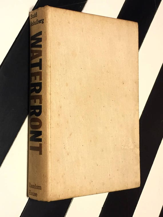 Waterfront by Budd Schulberg (1955) first edition book