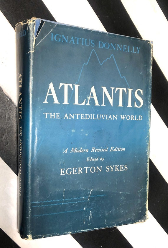 Atlantis: The Antediluvian World by Ignatius Donnelly (1949) hardcover book