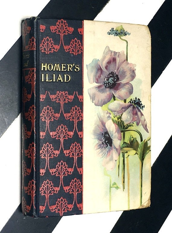 The Iliad of Homer translated by Alexander Pope (undated) hardcover book