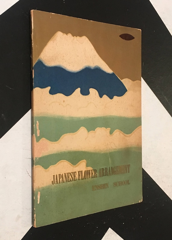 Japanese Flower Arrangement by Suikoh M. Ushihara vintage rare non-fiction paperback book (Softcover, 1959)
