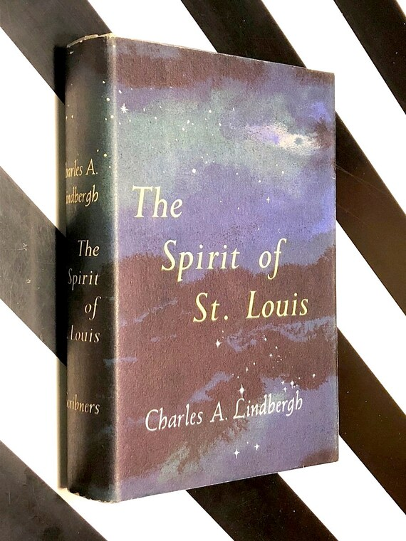 The Spirit of St. Louis by Charles Lindbergh (1953) first edition book