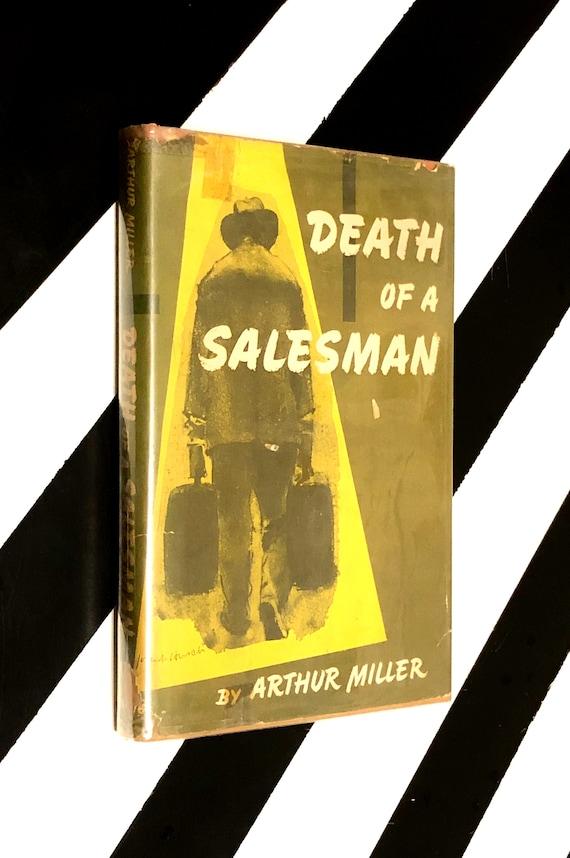 Death of a Salesman by Arthur Miller (1949) hardcover book