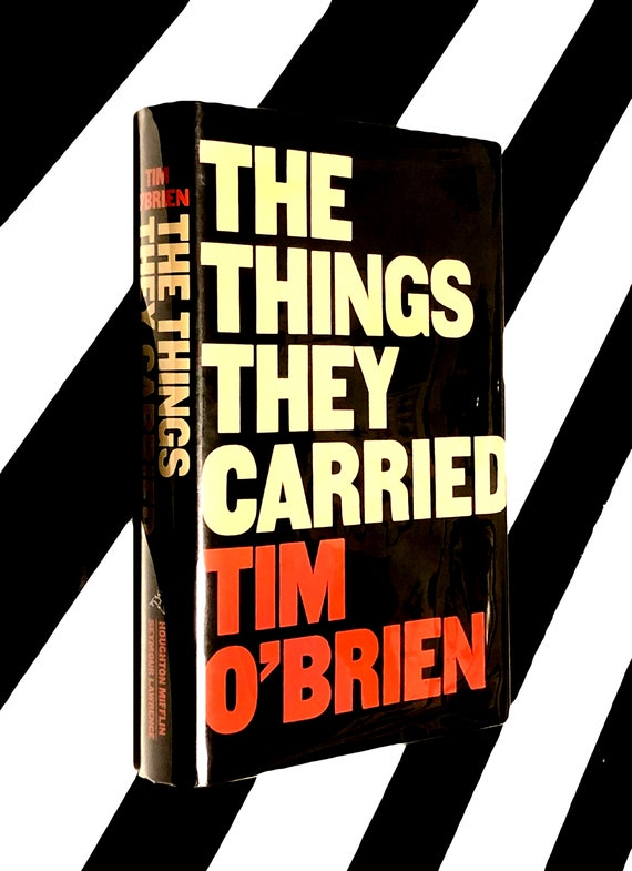 The Things They Carried by Tim O'Brien (1990) hardcover book