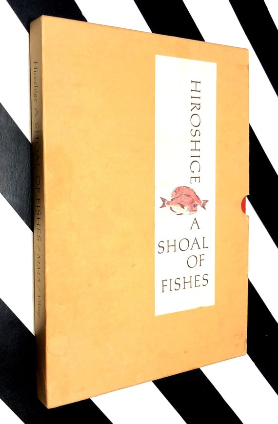 A Shoal of Fishes by Ando Hiroshige (1980) first edition book in slipcase