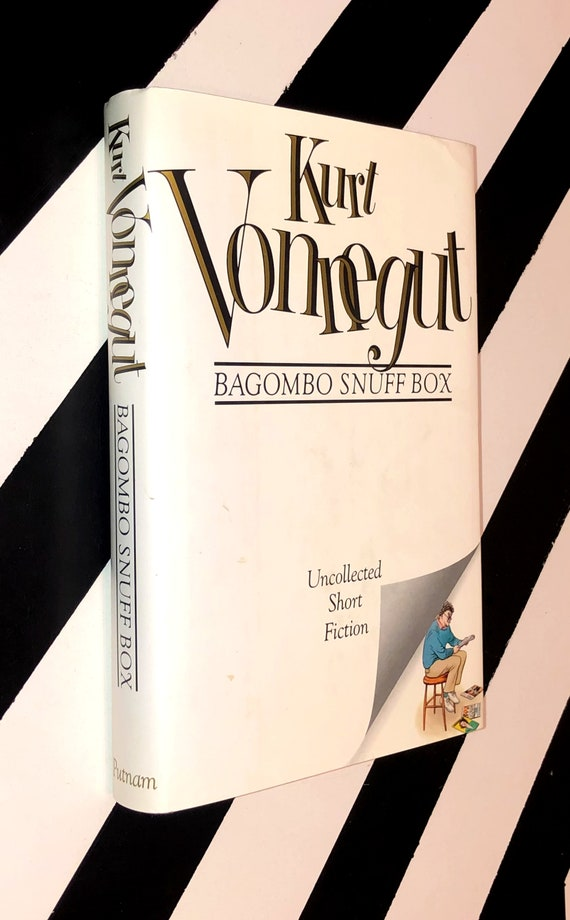 Bagombo Snuff Box: Uncollected Short Fiction by Kurt Vonnegut (1999) hardcover book
