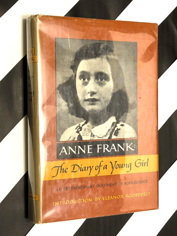 The Diary of a Young Girl by Anne Frank (1967) hardcover book