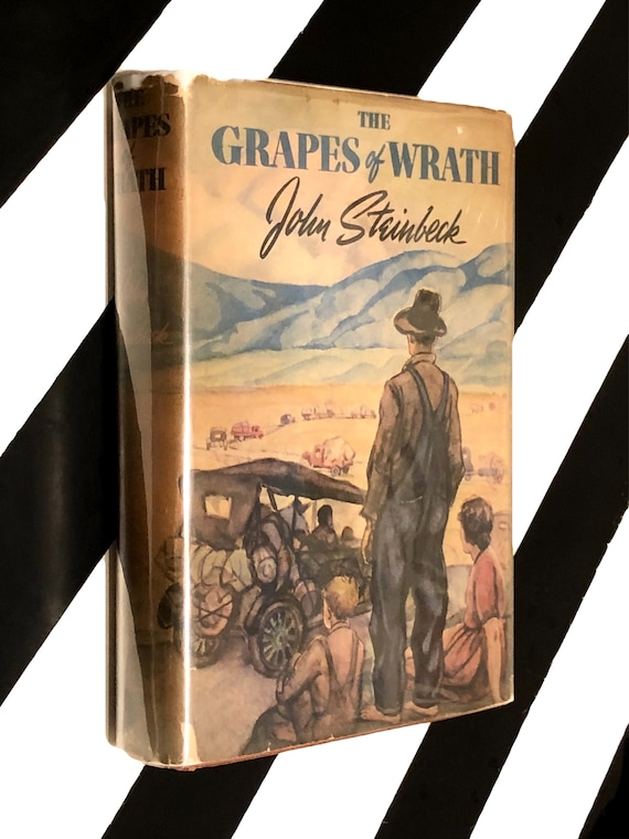 The Grapes of Wrath by John Steinbeck (1941) hardcover book