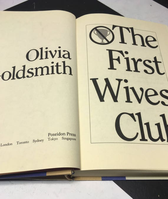 The First Wives Club A Novel By Olivia Goldsmith Vintage Etsy