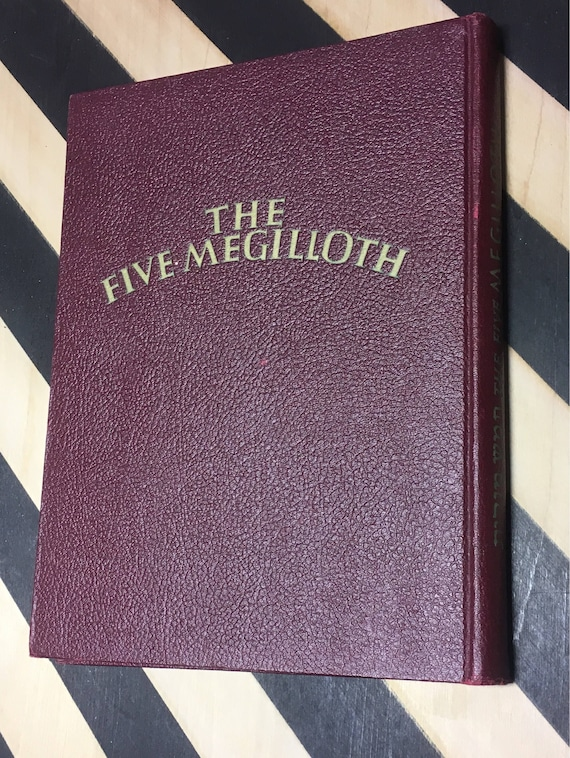 The Five Megilloth with illustrations by Siegmund Forst (Hardcover, 1948) vintage book