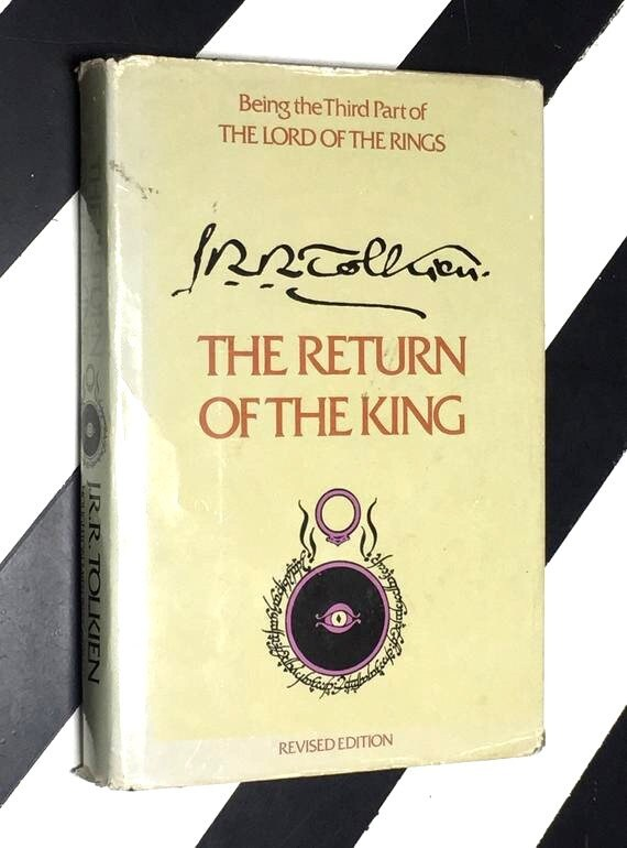 The Return of the King: Being the Third Part of The Lord of the Rings by J. R. R. Tolkien (1976) hardcover book
