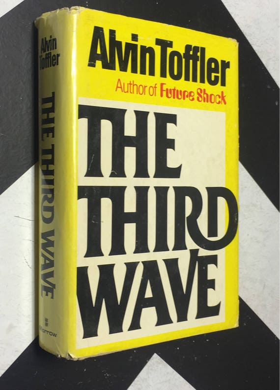 The Third Wave by Alvin Toffler (Hardcover, 1980) vintage book