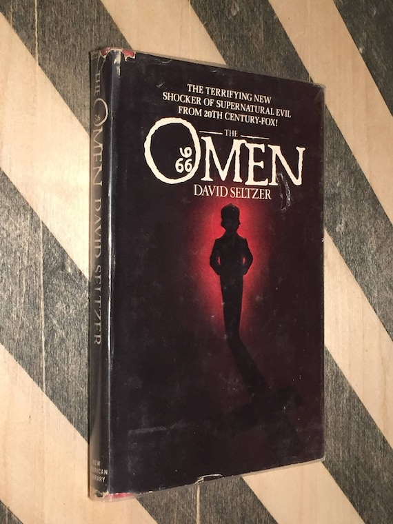 The Omen by David Seltzer (hardcover book)