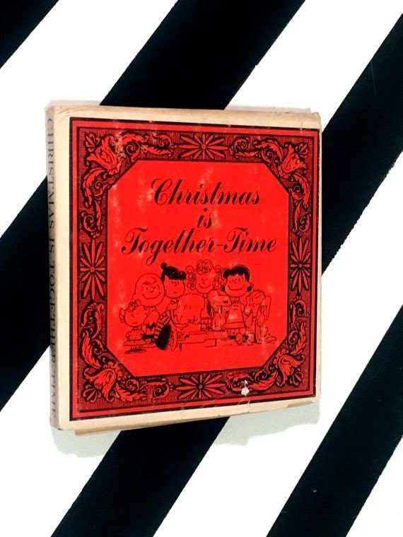 Christmas is Together-Time by Charles M. Schulz (1964) hardcover book