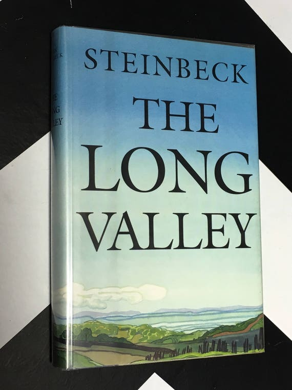 The Long Valley by John Steinbeck vintage classic fiction BOMC book (Hardcover, 1992)