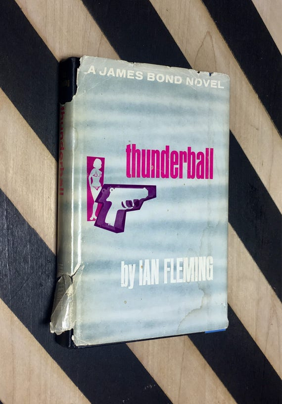 Thunderball by Ian Fleming (1961) hardcover book