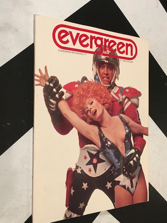 Evergreen Review/ Volume 14/ No. 77 vintage rare grove press counterculture (Softcover Magazine: April, 1970)