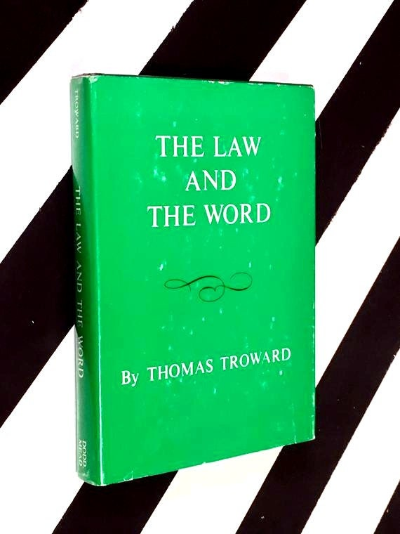 The Law and the Word by Thomas Troward (1917) hardcover book