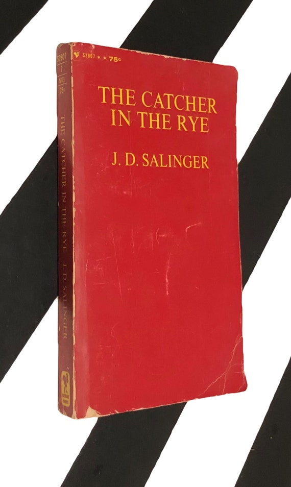 The Catcher in the Rye by J. D. Salinger (1966) softcover book