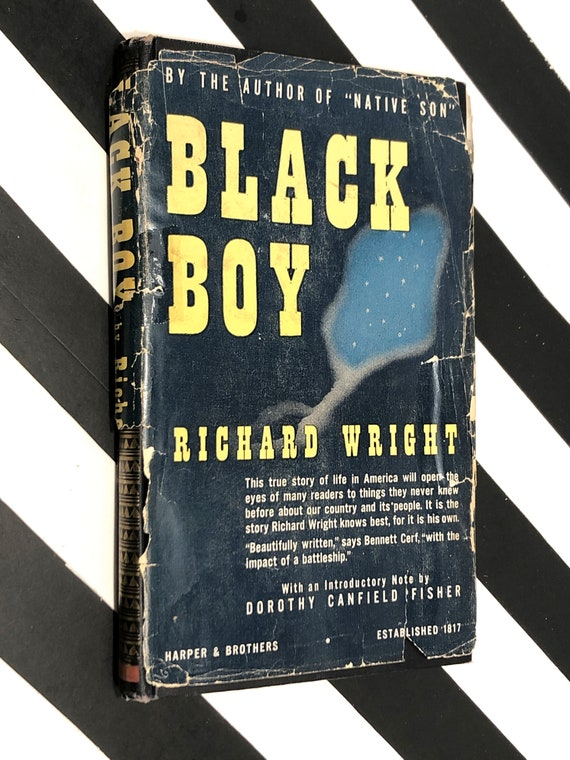 Black Boy by Richard Wright (1945) hardcover book