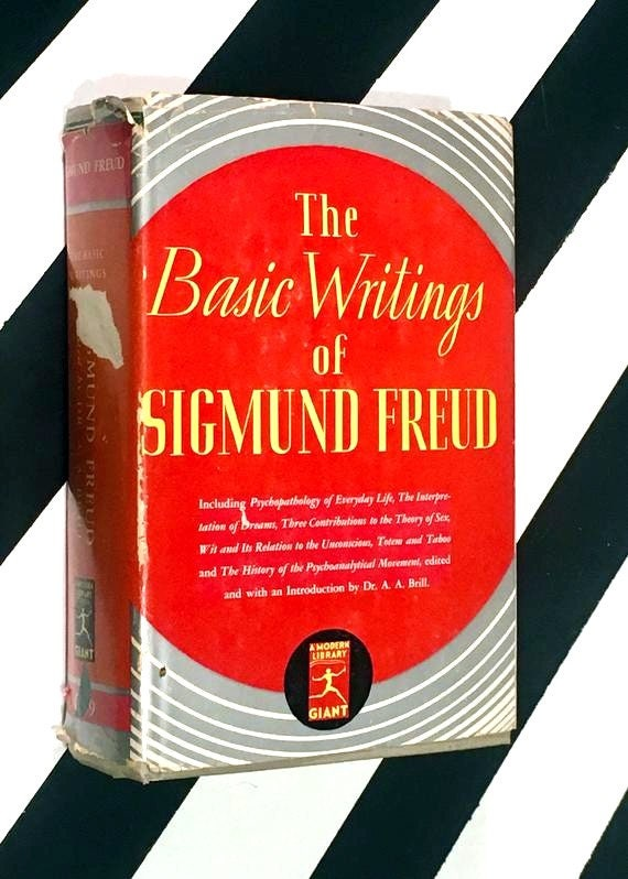 The Basic Writings of Sigmund Freud edited by Dr. A. A. Brill (1938) hardcover book
