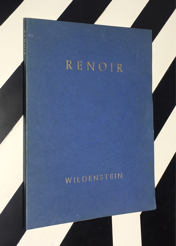 Renoir: In Commemoration of the Fiftieth Anniversary of Renoir's Death; Foreword by Charles Durand=Ruel (1969) softcover book