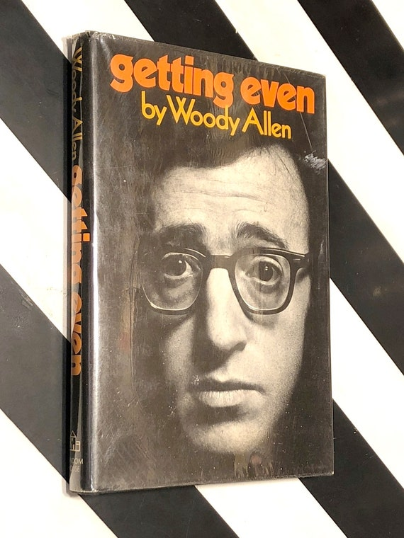 Getting Even by Woody Allen (1971) hardcover book