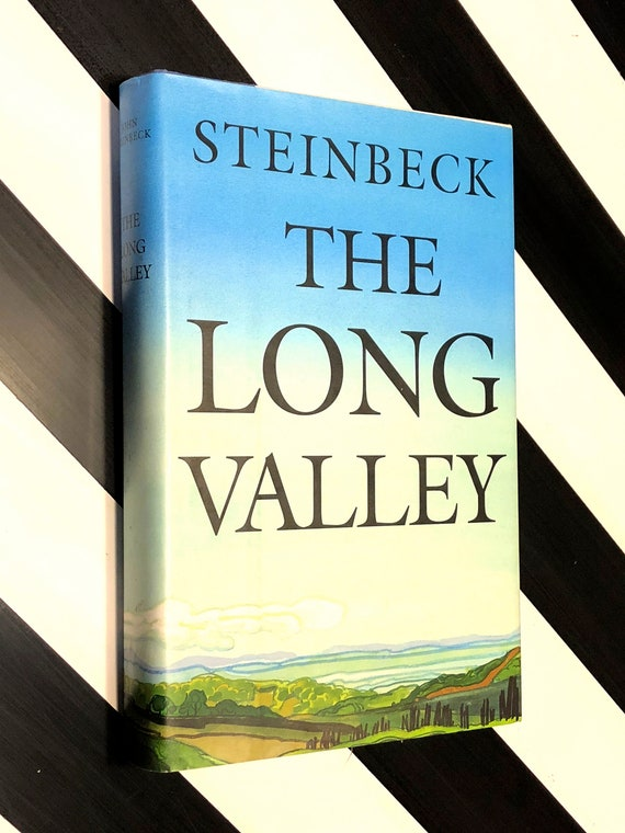 The Long Valley by John Steinbeck (1938) hardcover book