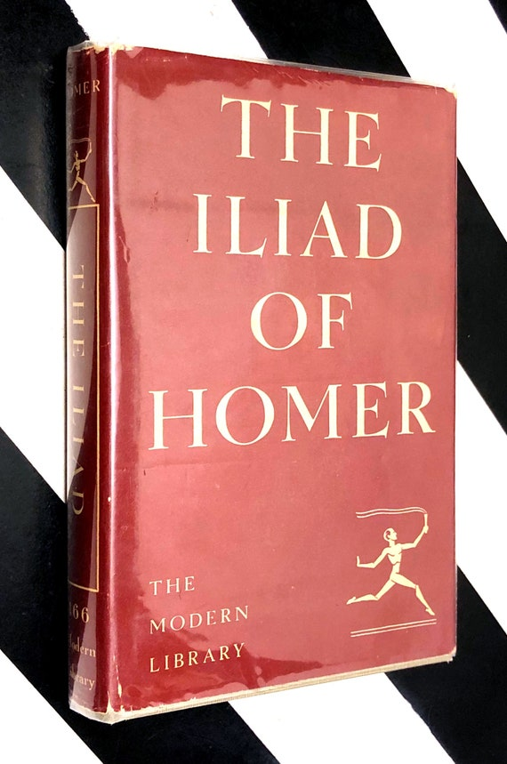 The Iliad of Homer (1950) hardcover Modern Library Book