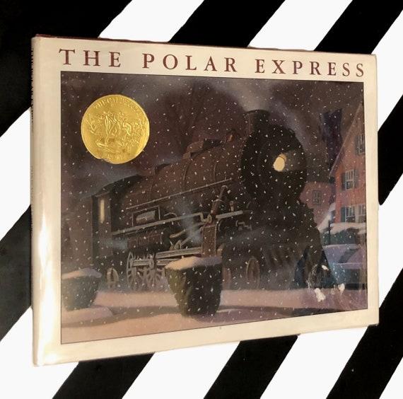 The Polar Express written and illustrated Chris Van Allsburg (1985) hardcover book